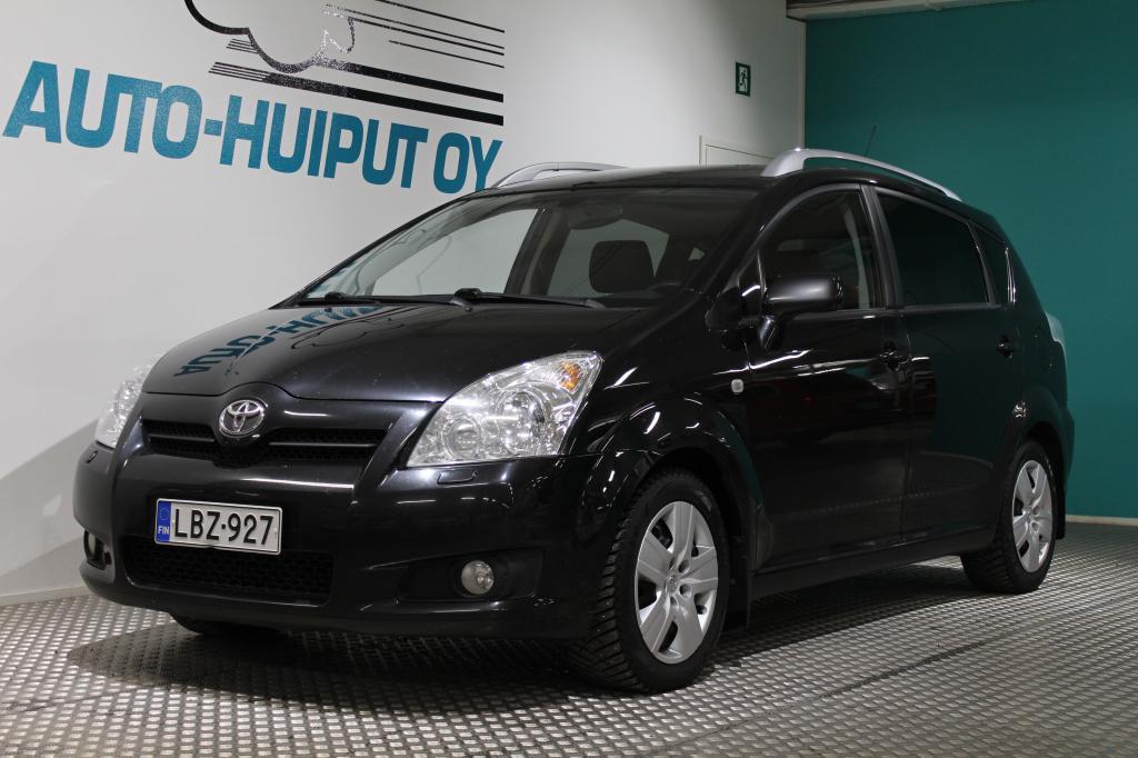 Toyota Corolla Verso, 2, 2 D-4D 136hv Linea Sol Plus # Hyvin pidetty #Vetokoukku #Suomi-auto *Käsiraha alkaen 0e