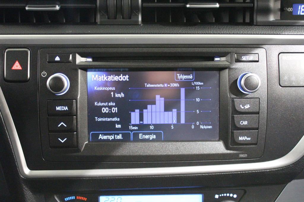 Toyota Auris, Touring Sports 1, 8 Hybridi #1-Omisteinen #Huippusiisti #Peruutuskamera #Navi