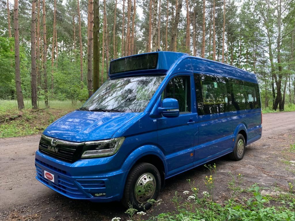 MAN eTge Mercus Elektric CityBus 100KW