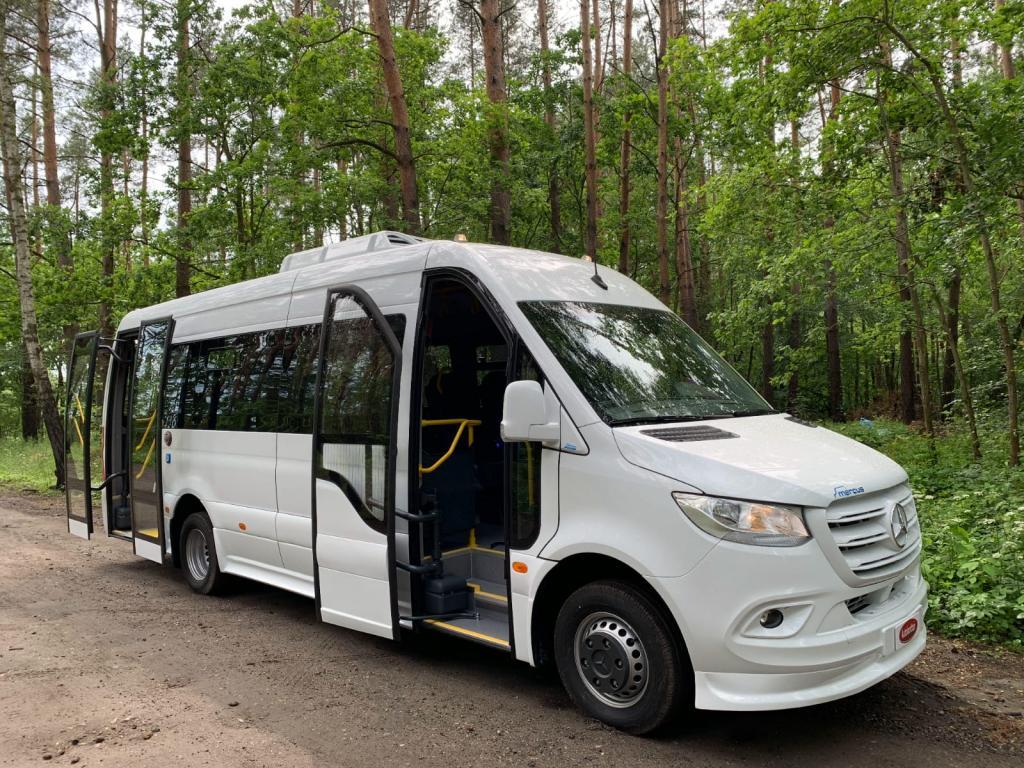 Mercedes-Benz Sprinter Mercus 516 Automaatti 15+19 Citybus