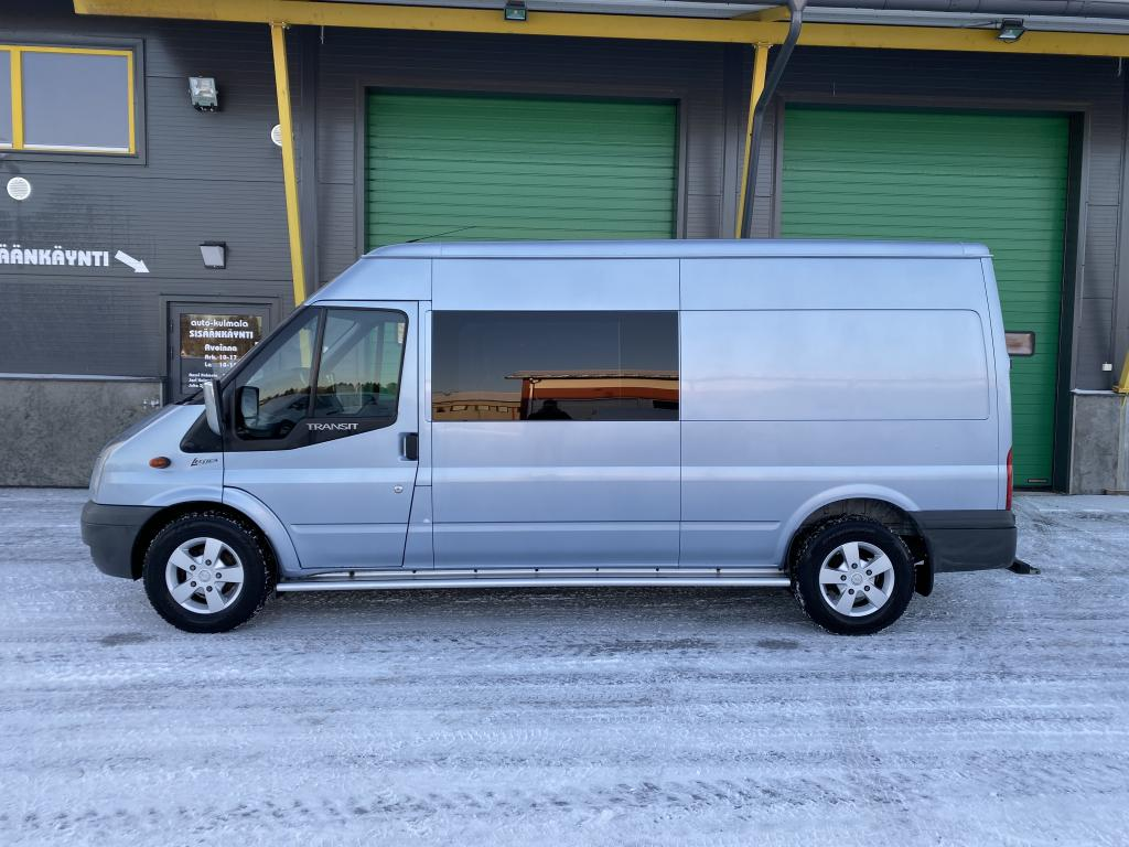 Ford Transit 2.2 TDCI 2+4 HLÖ:N LECTICA KUORMA-AUTO