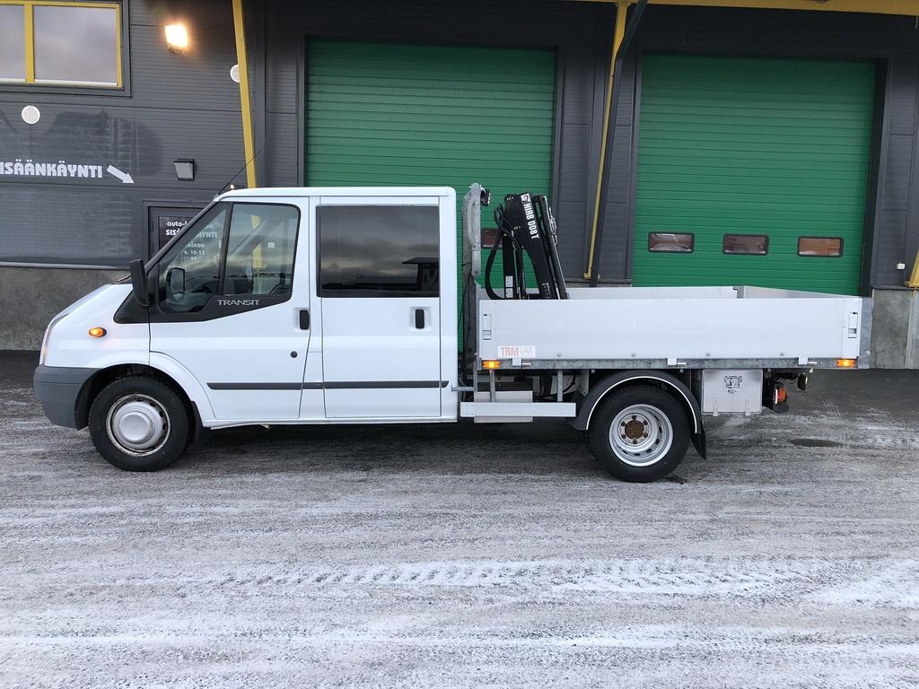 Ford Transit 2.4 TDCi 3+3HLÖ:NAVOLAVAKUORMA-AUTONOSTIMELLA