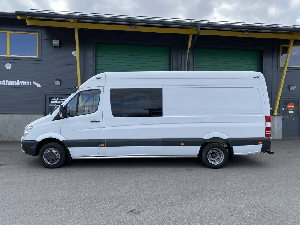 Mercedes-Benz Sprinter 416 CDI AUTOMAATTI 2+4 HLÖ:N FIX-TEN KUORMA-AUTO