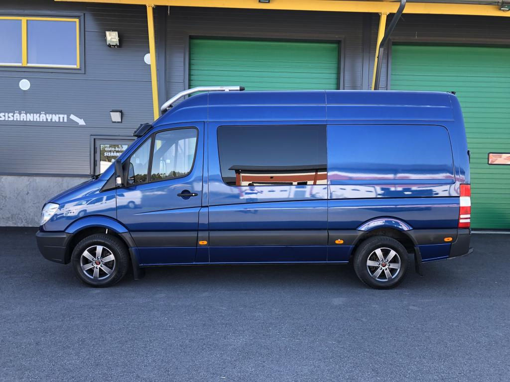 Mercedes-Benz Sprinter 316 CDI AUTOMAATTI 2+3HLÖ:NKUORMA-AUTO