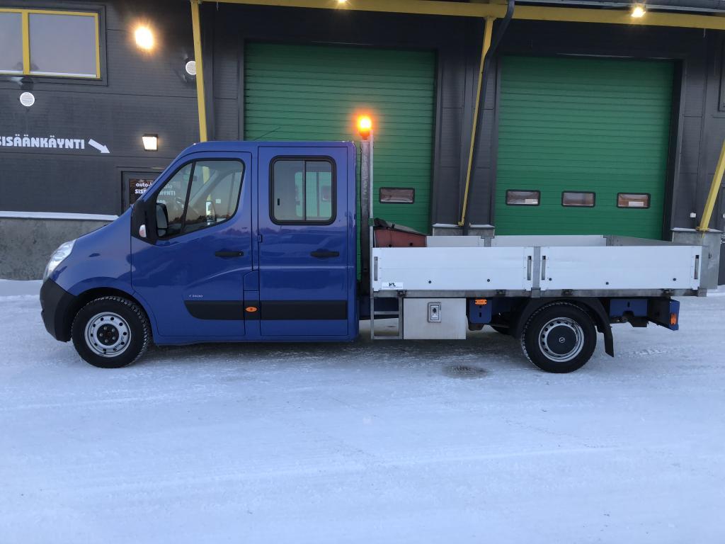 Opel Movano 2.3 CDTI 125HV7HLÖ:NAVOLAVAPAKETTIAUTO