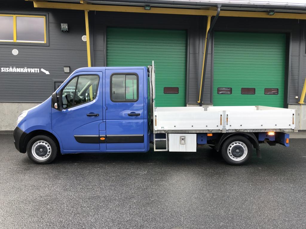 Opel Movano 2.3CDTI125HV7HLÖ:NAVOLAVAPAKETTIAUTO