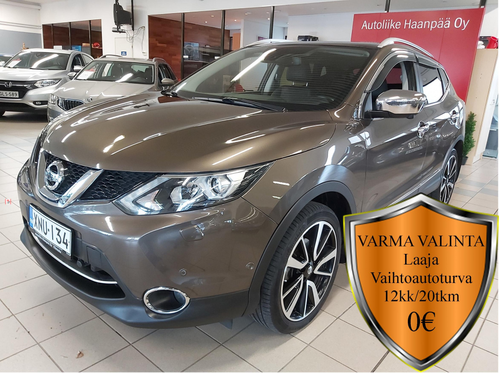 Nissan Qashqai, dCi 130 Tekna 4WD Design Pack Leather
