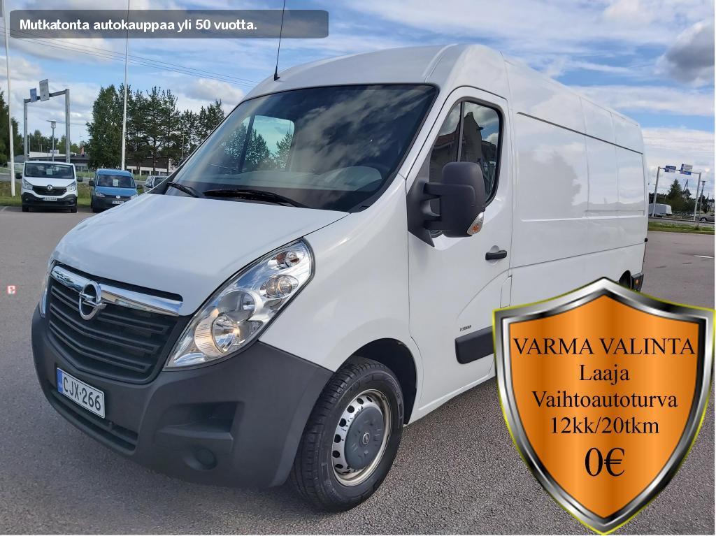 Opel Movano, 2.3 CDTI BITURBO VAN L3H2 100kW MT6 FWD