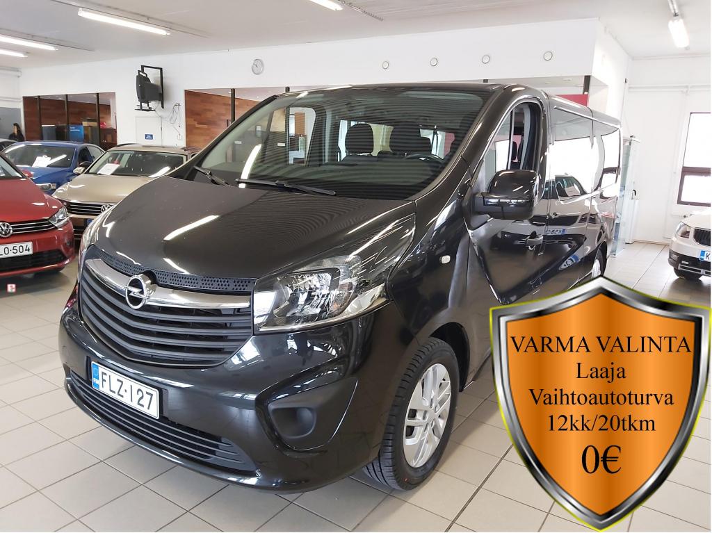 Opel Vivaro, Combi L2H1 1.6CDTI Bi Turbo ecoFL 92kW 9H