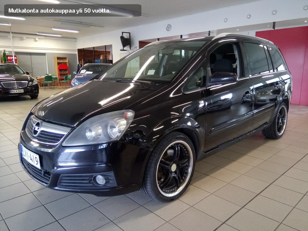 Opel Zafira, 1.9CDTI Enjoy 7h
