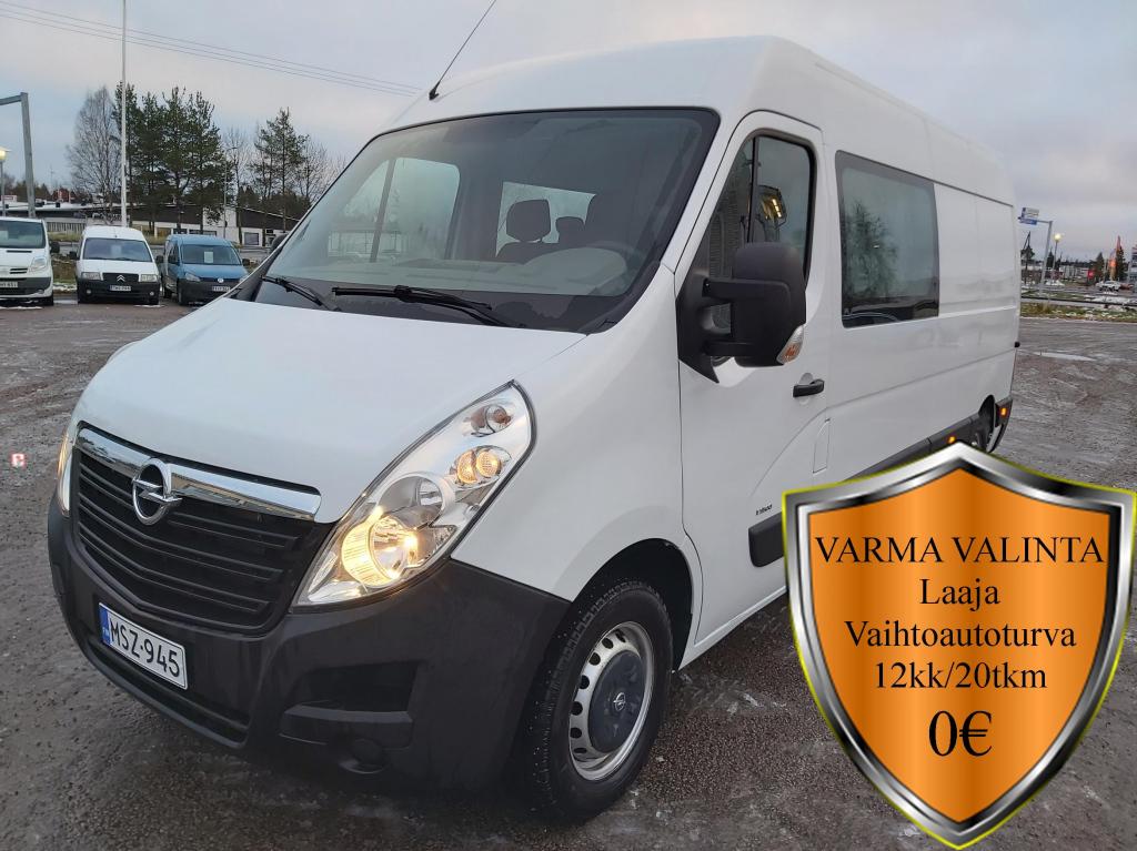 Opel Movano, CREWVAN L3H2 2.3CDTI BiTurbo 100kW 3.5t MT