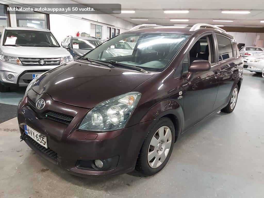 Toyota Corolla Verso, 2, 2 D-4D 177 Clean Power Sol Sport 7p