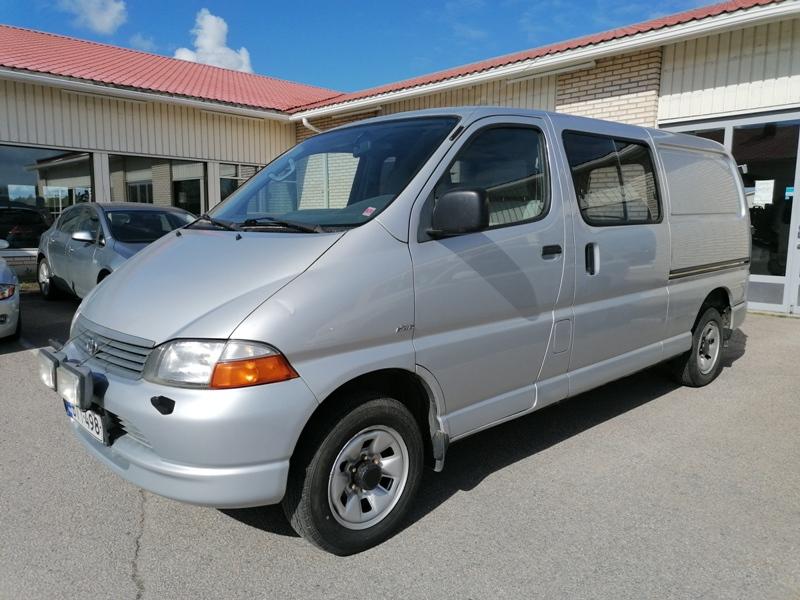 Toyota Hiace, 2.5 D-4D 100 AIR 6ov 4WD