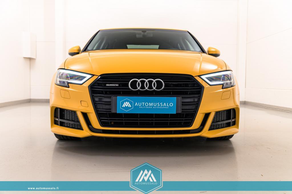 Audi A3 Sedan Land of quattro 2, 0 TFSI 140kW Quattro Aut S-line