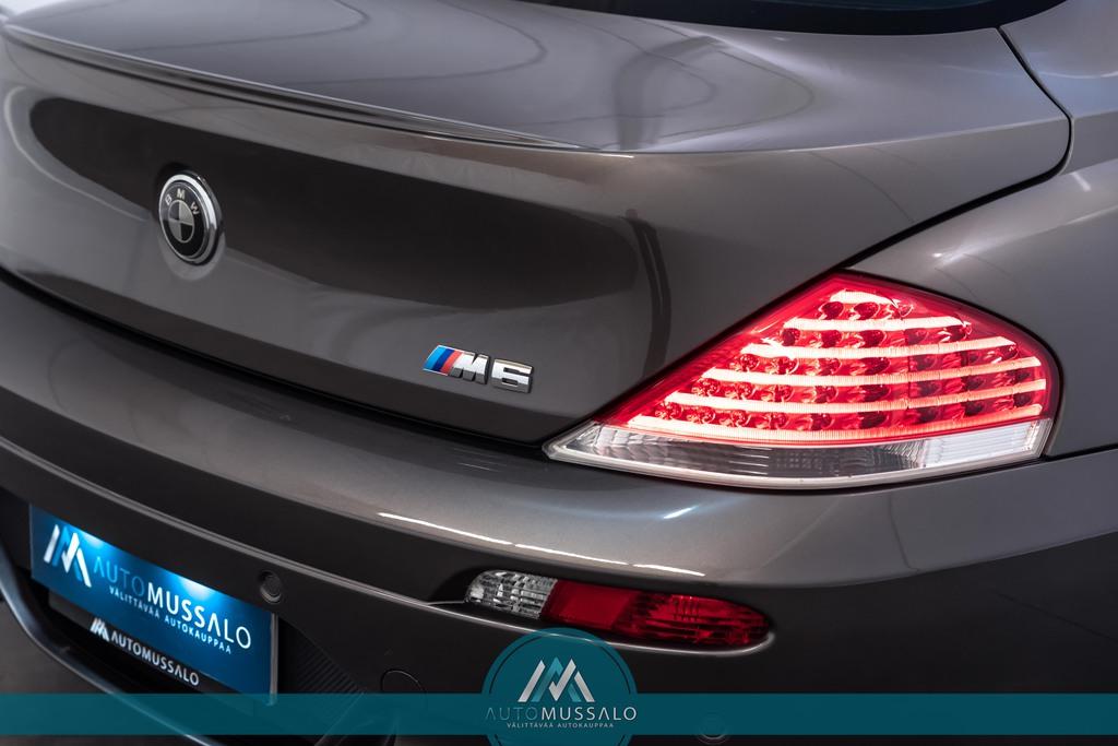 BMW M6 Coupé E63 V10 507hv