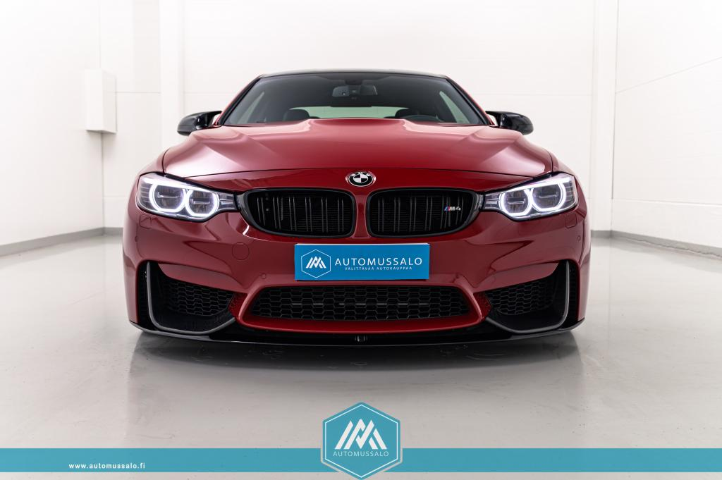 BMW M4 F82 Coupe DCT A 580hv Individual Imola Rot