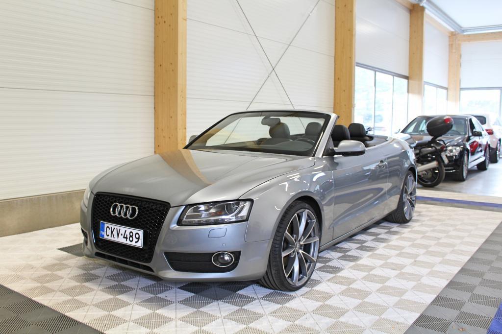 Audi A5, Cabriolet 2, 0TDI 170hv S-Line *20