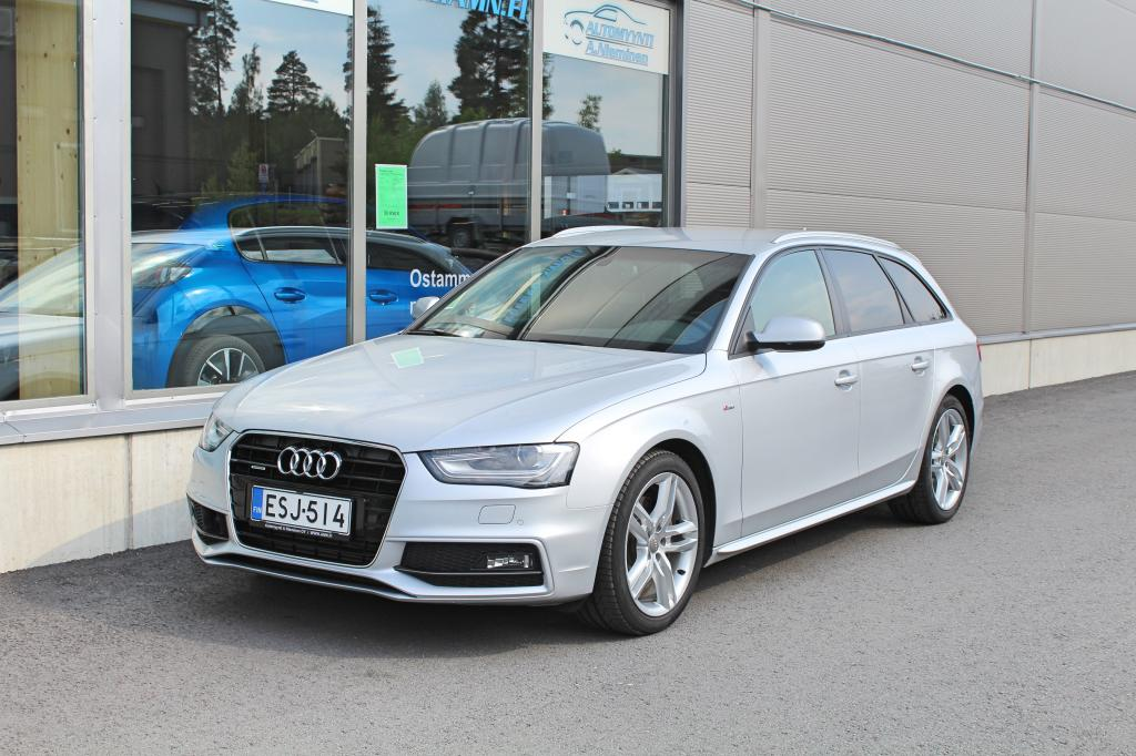 Audi A4, Avant 3, 0 TDI 180kw Quattro Sportpaket plus S-Line *ADAPT.CRUISE/NAVI/KOUKKU*