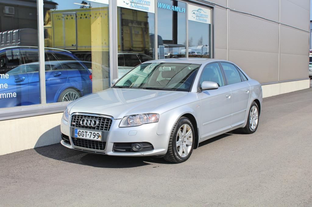 Audi A4, 1.8 Turbo Aut 120kw S-Line *JUURI HUOLLETTU JA KATSASTETTU*