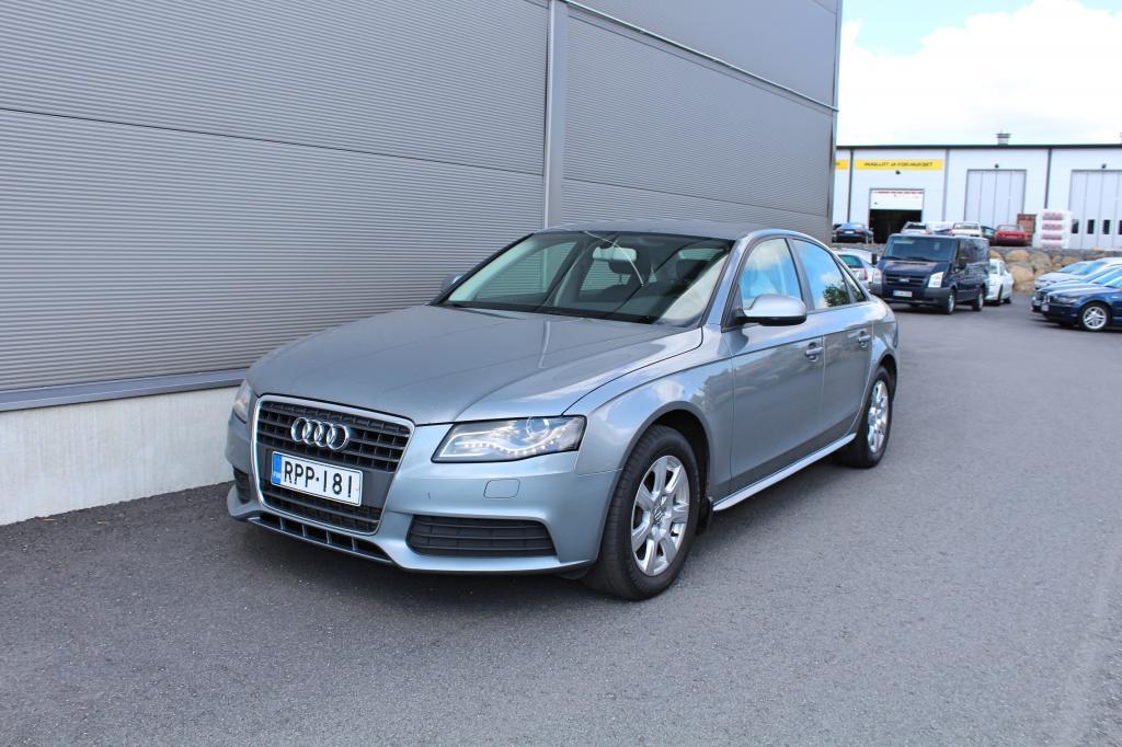 Audi A4, 2, 0 TDI Aut *JUURI HUOLLETTU*