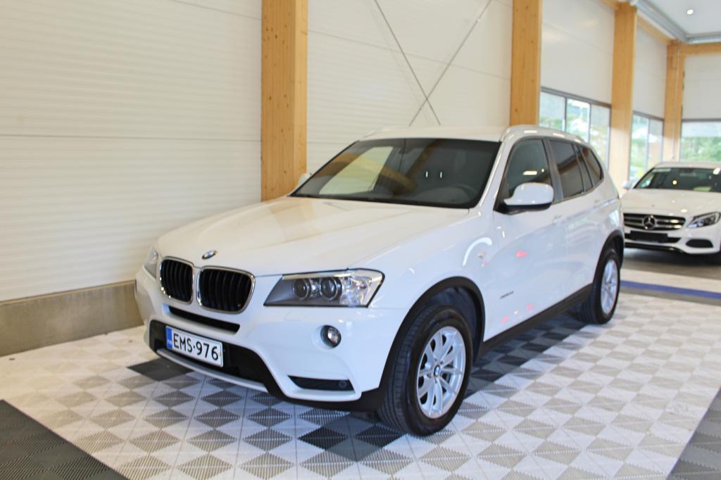 BMW X3, xDRIVE20i TwinPower Turbo A Business *SUOMIAUTO/VETOKOUKKU/XENON/TUTKAT*