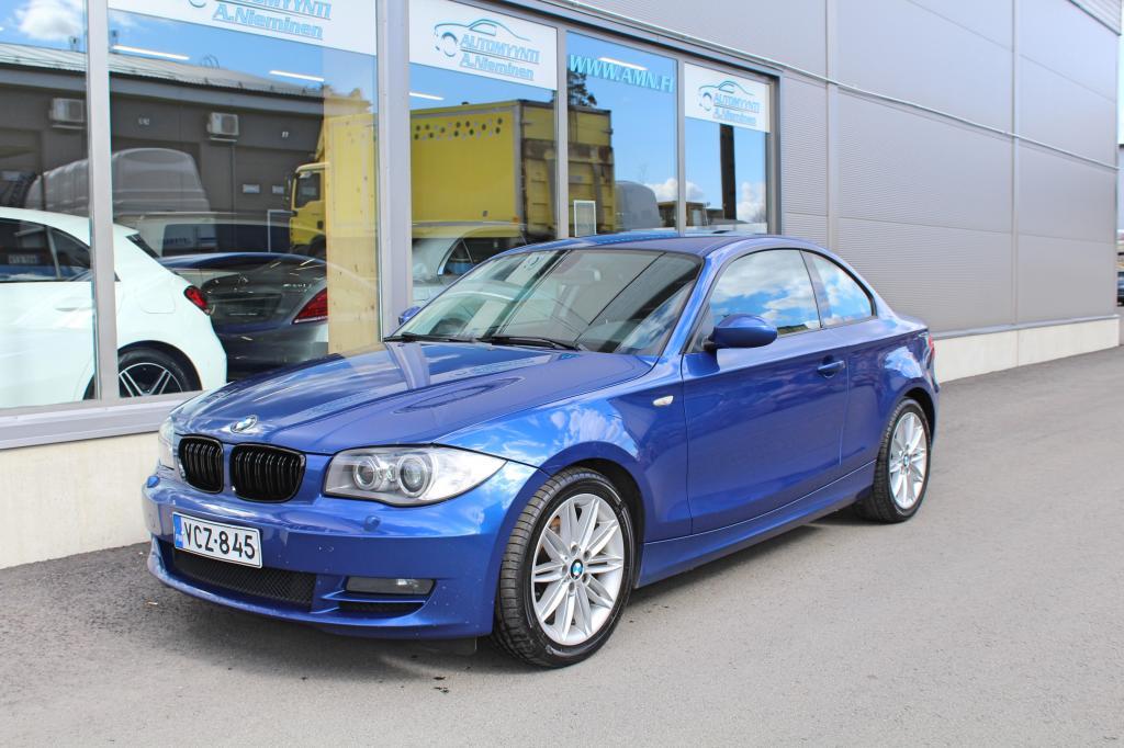 BMW 120, d *SIISTI HUOLLETTU SUOMIAUTO*