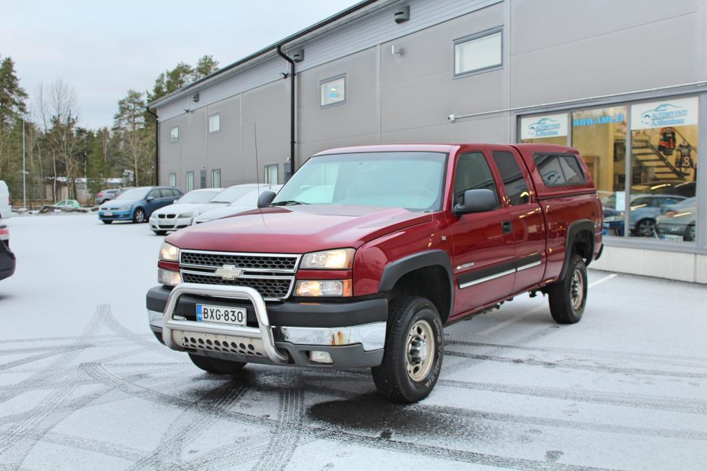 Chevrolet Silverado, K2500HD PICKUP EXTENDED CAB 4X4 SIS. ALV 24% *HIENO SUOMIAUTO!*