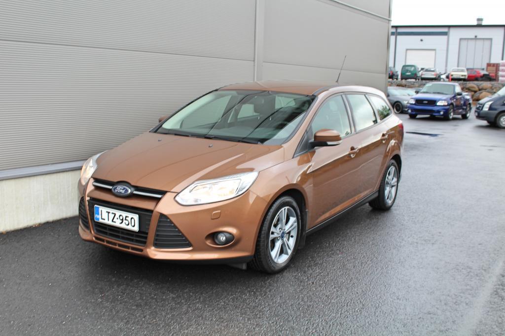 Ford Focus, 1, 0 EcoBoost 125 hv Trend X M6 Wagon KORKO 0, 99% *CRUISE/LÄMMITETTÄVÄLASI/TUTKAT*