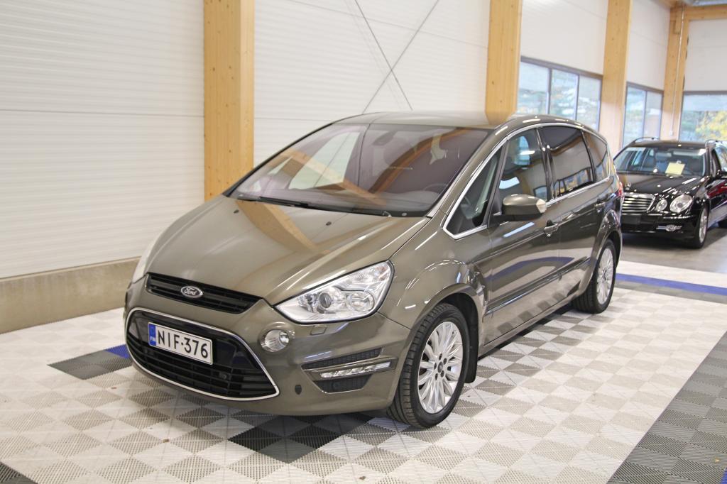 Ford S-MAX, 2, 0 EcoBoost 203hv Powershift Aut Titanium *XENON/TUTKAT/KOUKKU/7-PAIKKAINEN*