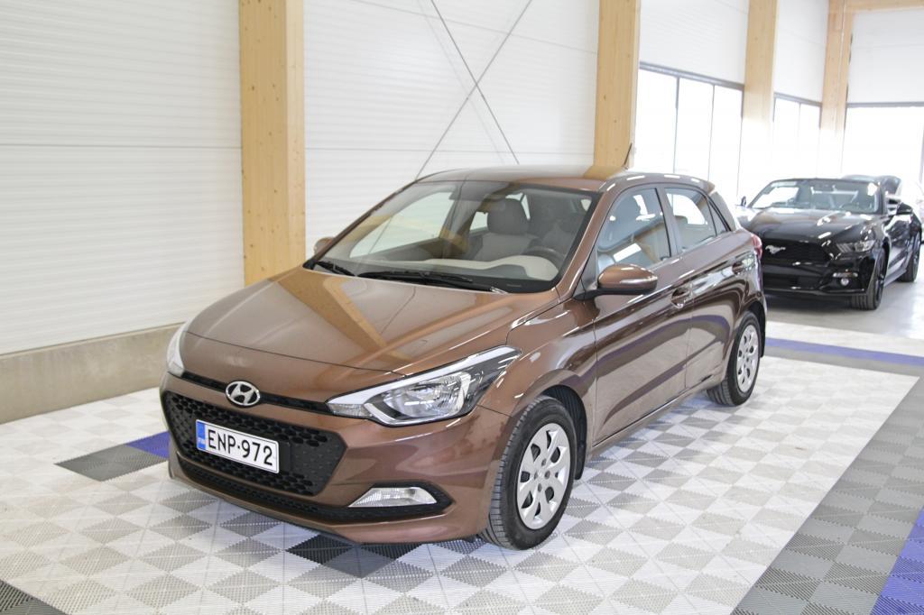 Hyundai i20, 5D 1, 2 5MT Classic *1-OM SUOMIAUTO*