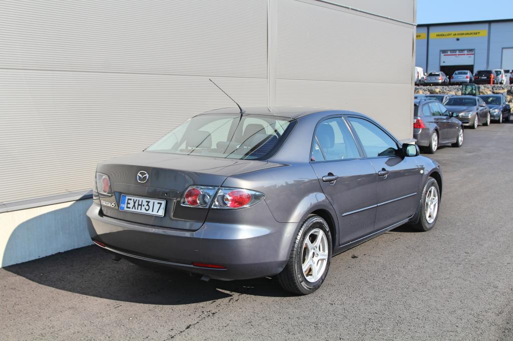 Mazda 6, 2, 0 Elegence *SIISTIKUNTOINEN YKSILÖ*