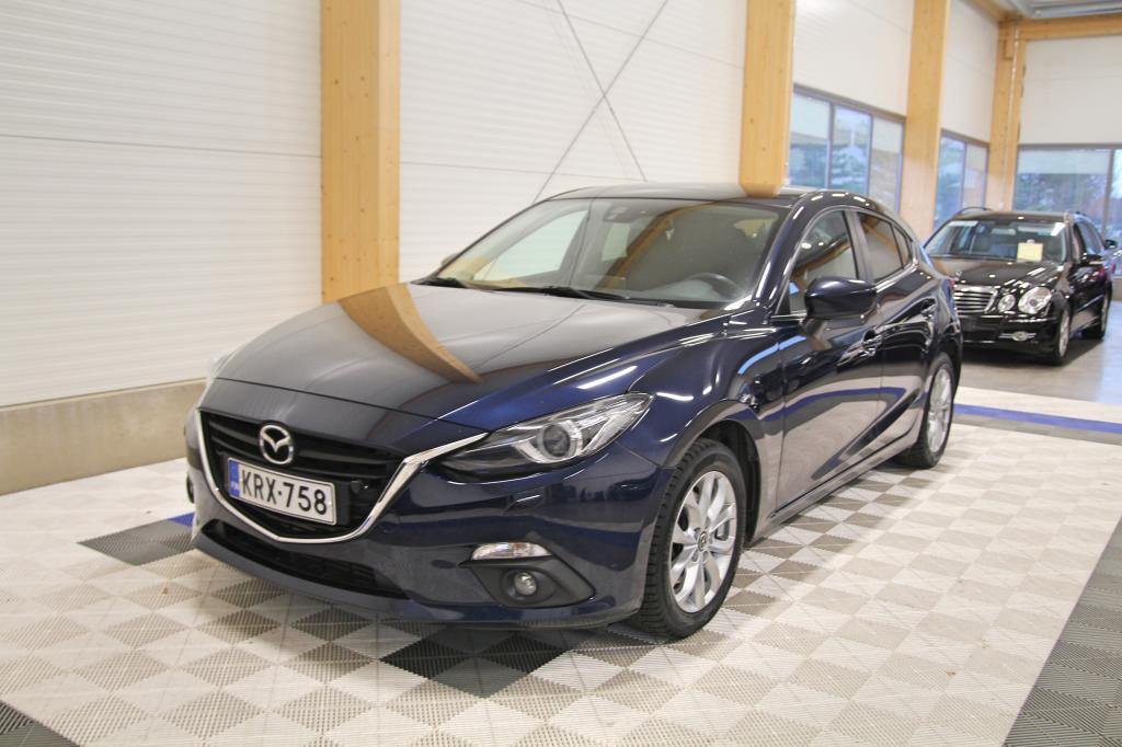 Mazda 3, SKYACTIV-D 2, 2 *OSAMAKSULLA JOPA ILMAN KÄSIRAHAA*