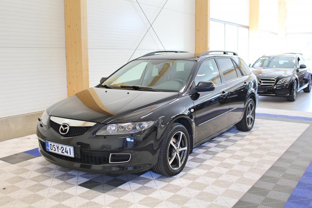 Mazda 6, 2, 0 Elegance Automaatti STW *HIENO SUOMIAUTO*