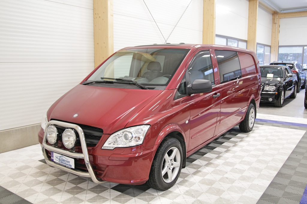 Mercedes-Benz Vito, 113 CDI A 2+3 Hengen Kaksikäyttöauto *WEBASTO/XENON/KOUKKU*