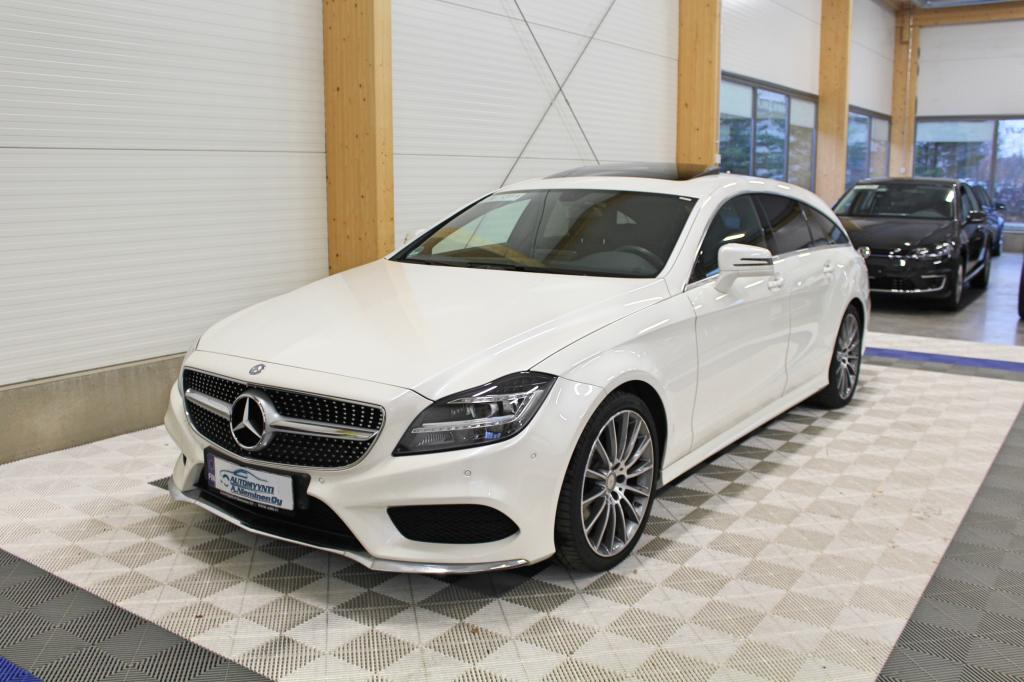 Mercedes-Benz CLS, 220d AMG *LED/NAVI/KOUKKU*