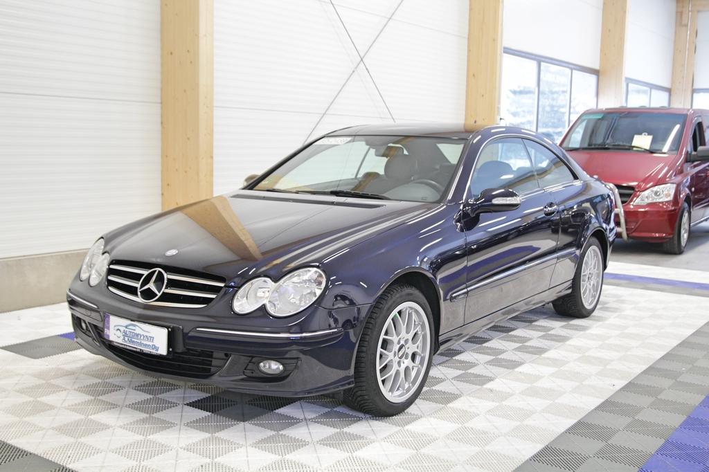 Mercedes-Benz CLK, 200 Kompressor Avantgarde *HUIPPUSIISTI AUTO*