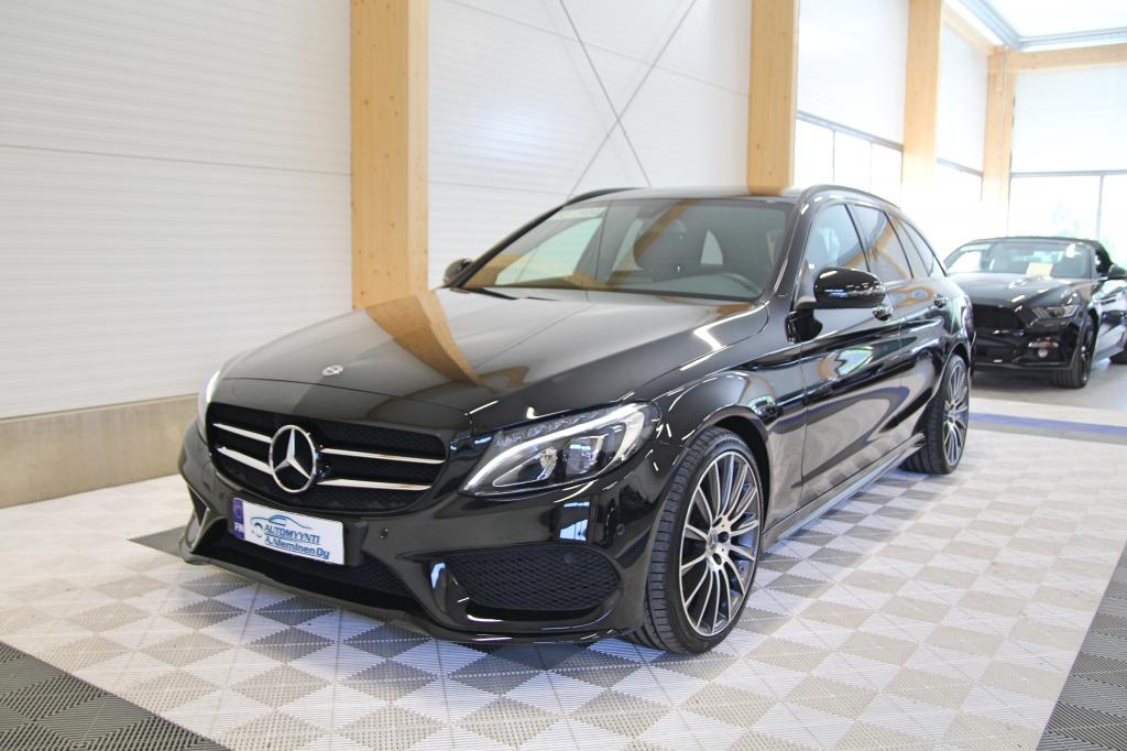 Mercedes-Benz C, 200d T A AMG *NIGHT/NAVI/LED*