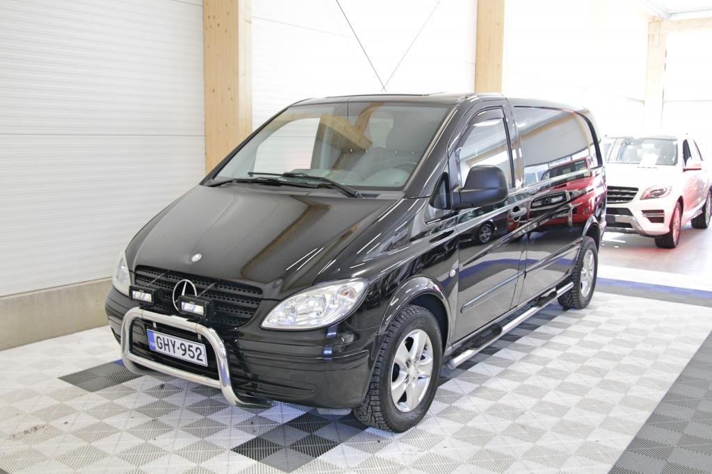 Mercedes-Benz Vito, 120 CDI Aut *OSAMAKSULLA JOPA ILMAN KÄSIRAHAA*