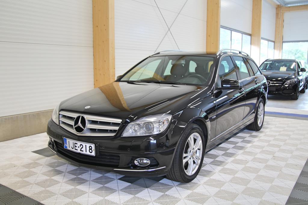 Mercedes-Benz C, 220 CDI BE T A Elegance *SUOMIAUTO/KOUKKU/XENON*