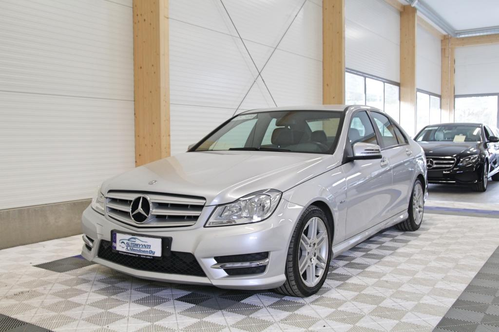 Mercedes-Benz C, 180 CGI Amg Man *SIISTI JUURI HUOLLETTU JA KATSASTETTU AUTO*