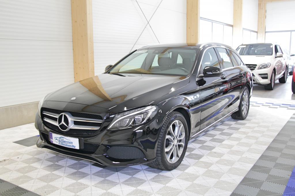 Mercedes-Benz C, 220 BlueTec T A Premium Avantgarde *ILS/NAVI/PUOLINAHAT*