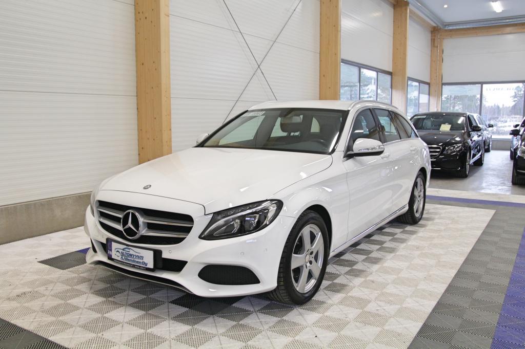 Mercedes-Benz C, 180 T A Premium Business Avantgarde *PUOLINAHAT/NAVI/KOUKKU*