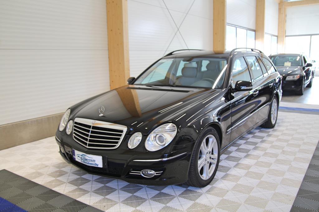 Mercedes-Benz E, 200 KOMPRESSOR Aut Avantgarde *OSAMAKSULLA JOPA ILMAN KÄSIRAHAA*