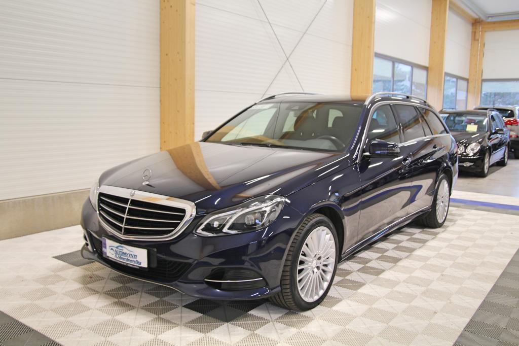 Mercedes-Benz E, 200 CDI T A BE Elegance *ILS/KOUKKU/NAVI*