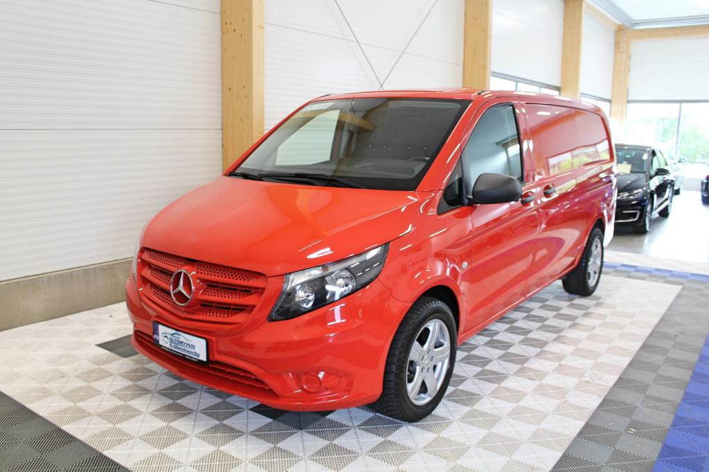 Mercedes-Benz Vito, 114 CDI Man SIS ALV 24% *P-KAMERA/2x LIUKUOVET/WEBASTO*