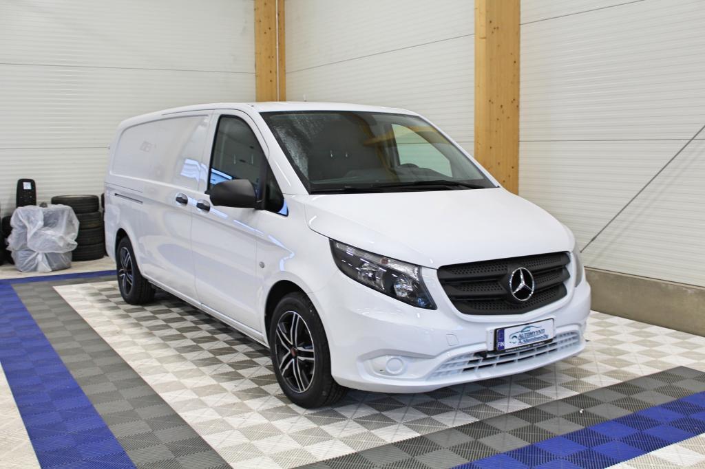 Mercedes-Benz Vito, 114 CDI A3 PITKÄ SIS ALV 24% *WEBASTO/HYLLYT/KOUKKU/P-KAMERA*