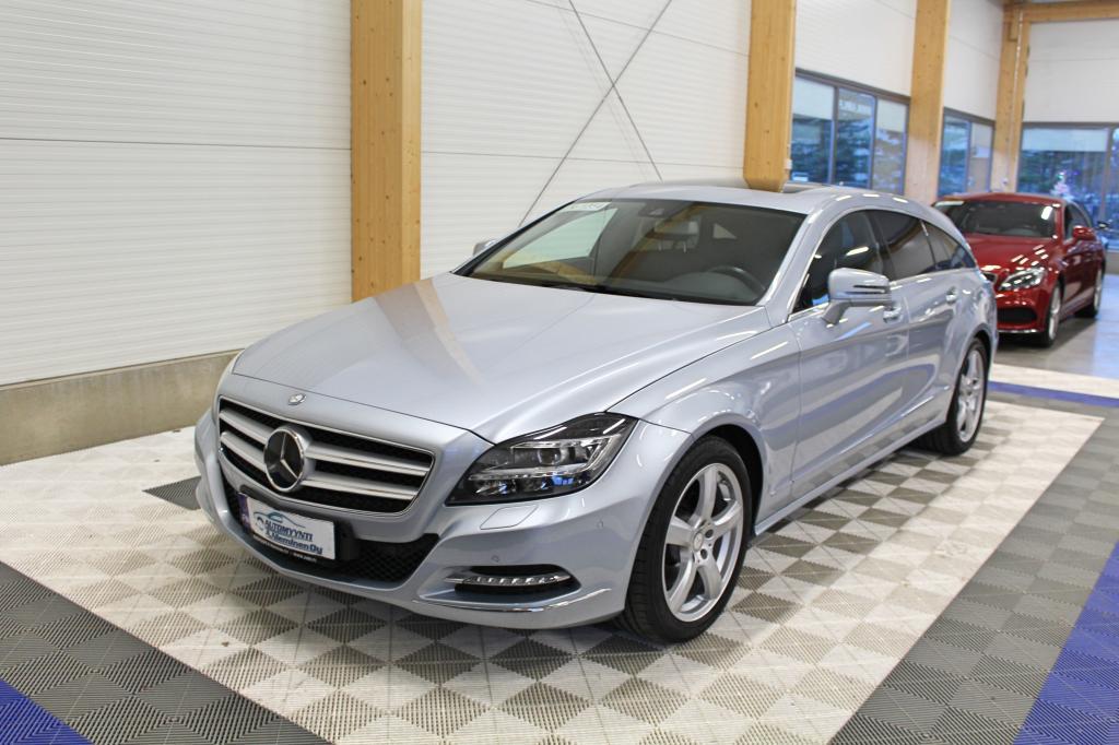 Mercedes-Benz CLS, 250 CDI BE Shooting Brake *WEBASTO/KOUKKU/LED/NAVI*