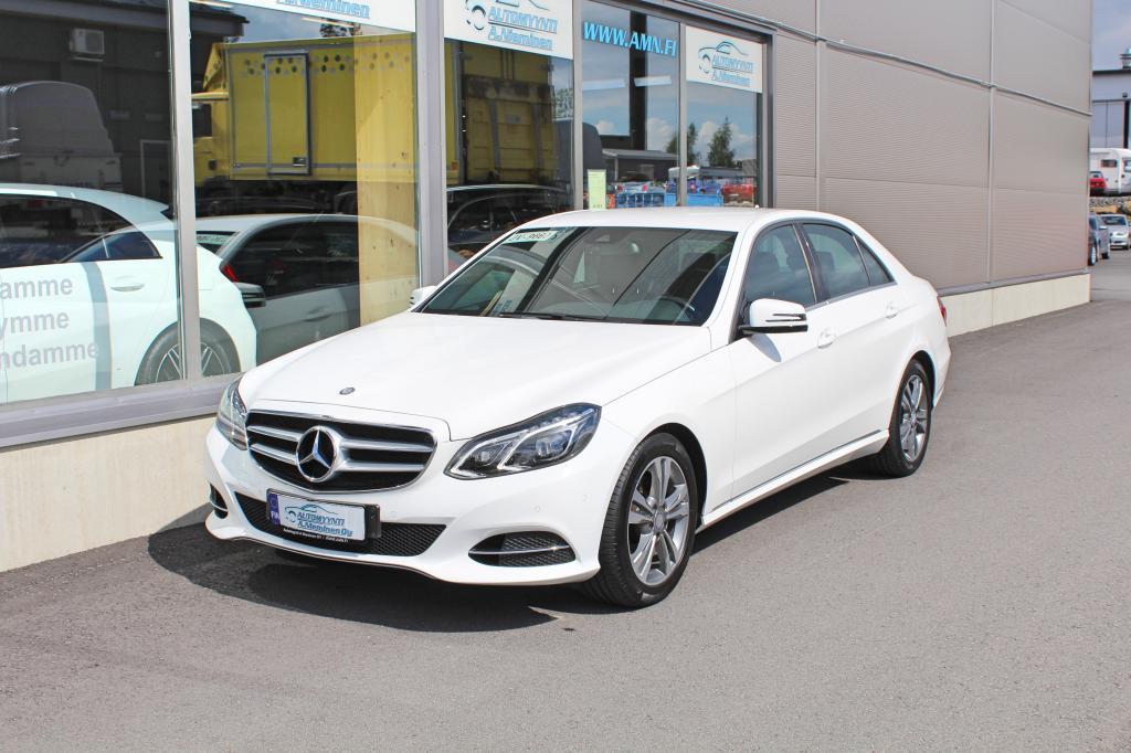 Mercedes-Benz E, 300 CGI BE A Avantgarde *NAVI/NAHAT/ILS/VETOKOUKKU*