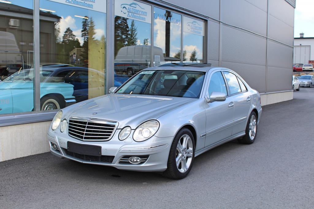 Mercedes-Benz E, 200 Kompressor Aut Avantgarde *JUURI HUOLLETTU*