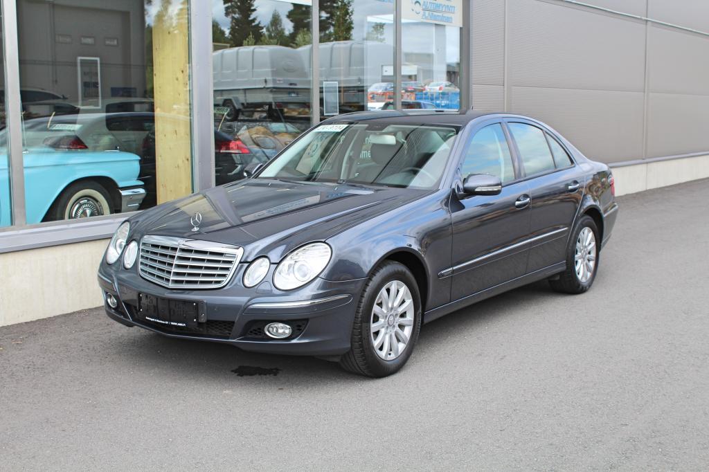 Mercedes-Benz E, 230 V6 Aut Elegance *JUURI HUOLLETTU JA KATSASTETTU*